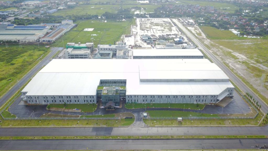Golden lotus hoàn thành xuất sắc công trình Nhà máy dệt Best Pacific Việt Nam