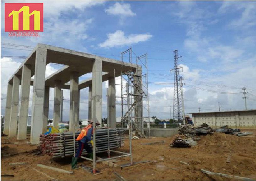 Update Construction Progress Of Xindadong Textiles – Dung Quat On Nov 03, 2019