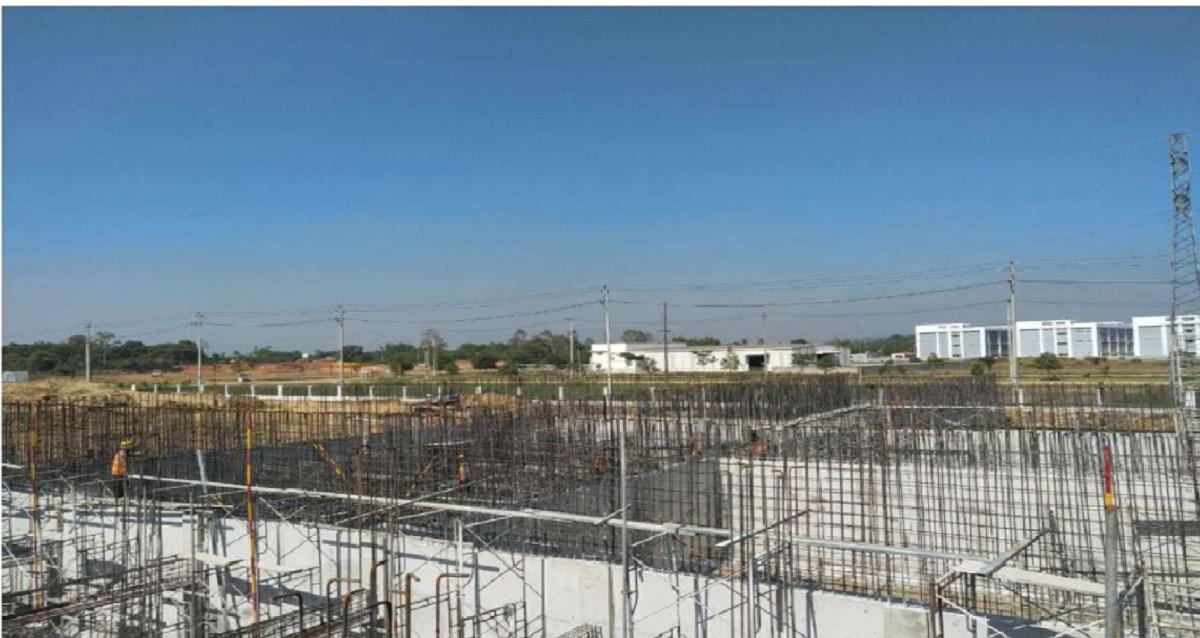 Cập nhật tiến độ công trình Xindadong Textiles Việt Nam ngày 22/06/2019