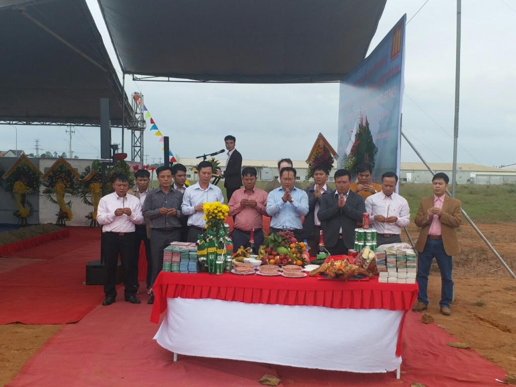 GOLDEN LOTUS Khởi Công Dự Án Nhà Xưởng Công Ty TNHH Perennial Cable Việt Nam – Giai Đoạn 2