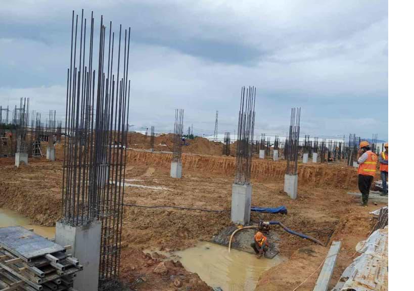 Cập nhật tiến độ công trình Mahang – Dung Quất ngày 03/09/2019