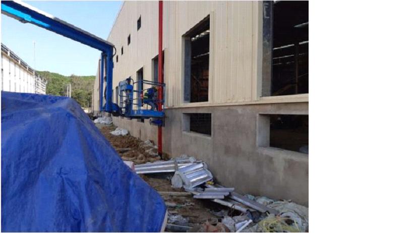 Cập Nhật Tiến Độ Công Trình Xindadong Textiles – Dung Quất Ngày 25/12/2019