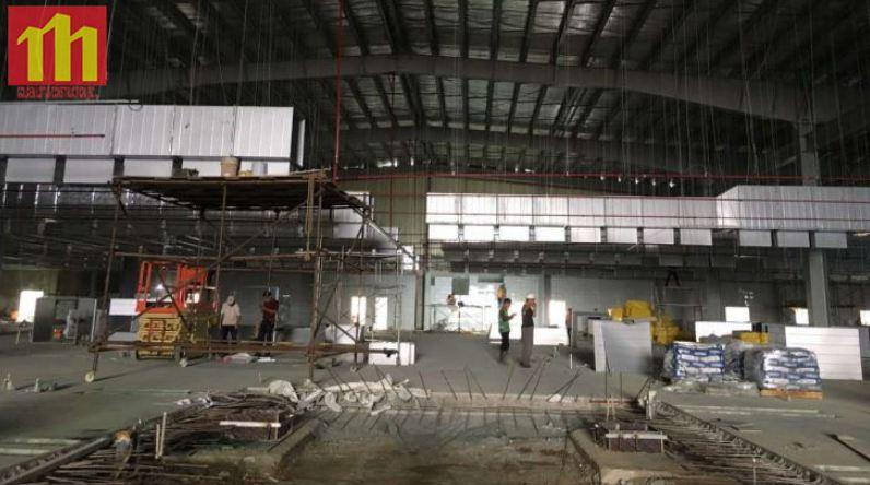 Cập nhật tiến độ công trình Xindadong Textiles – Dung Quất ngày 14/11/2019