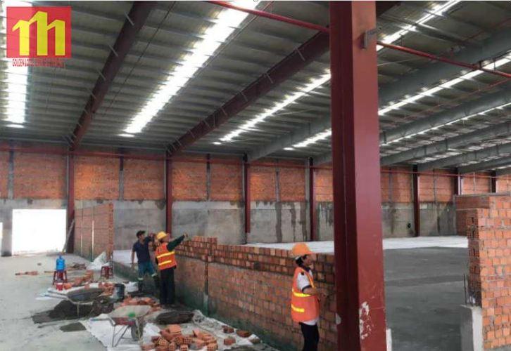 Cập nhật tiến độ công trình Xindadong Textiles – Dung Quất ngày 28/10/2019