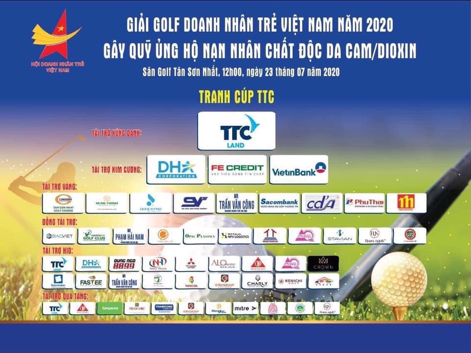 Golden Lotus Construction jsc., đồng hành cùng Giải golf Doanh nhân trẻ lần thứ VIII năm 2020