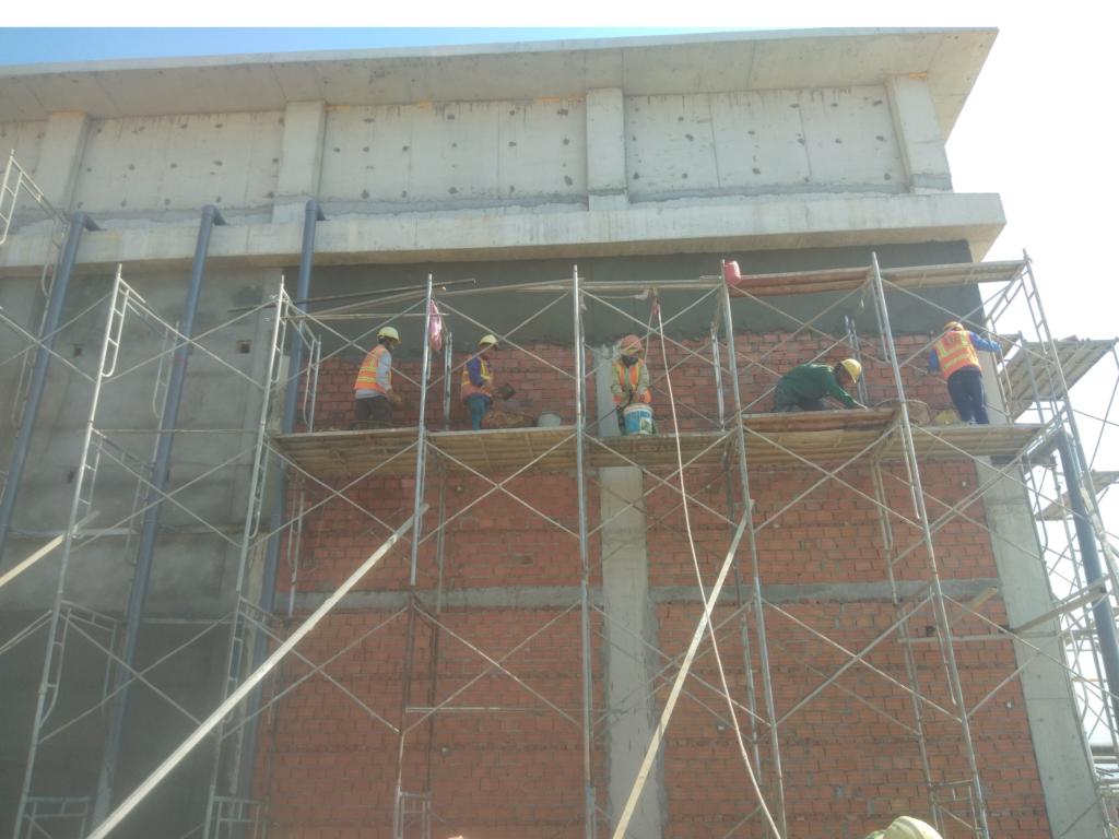 Cập nhật tiến độ công trình Xindadong Textiles – Dung Quất ngày 02/03/2020
