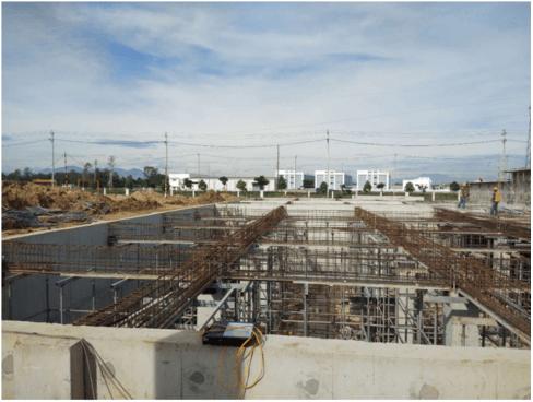 Cập nhật tiến độ công trình Xindadong Textiles – Dung Quất ngày 06/09/2019