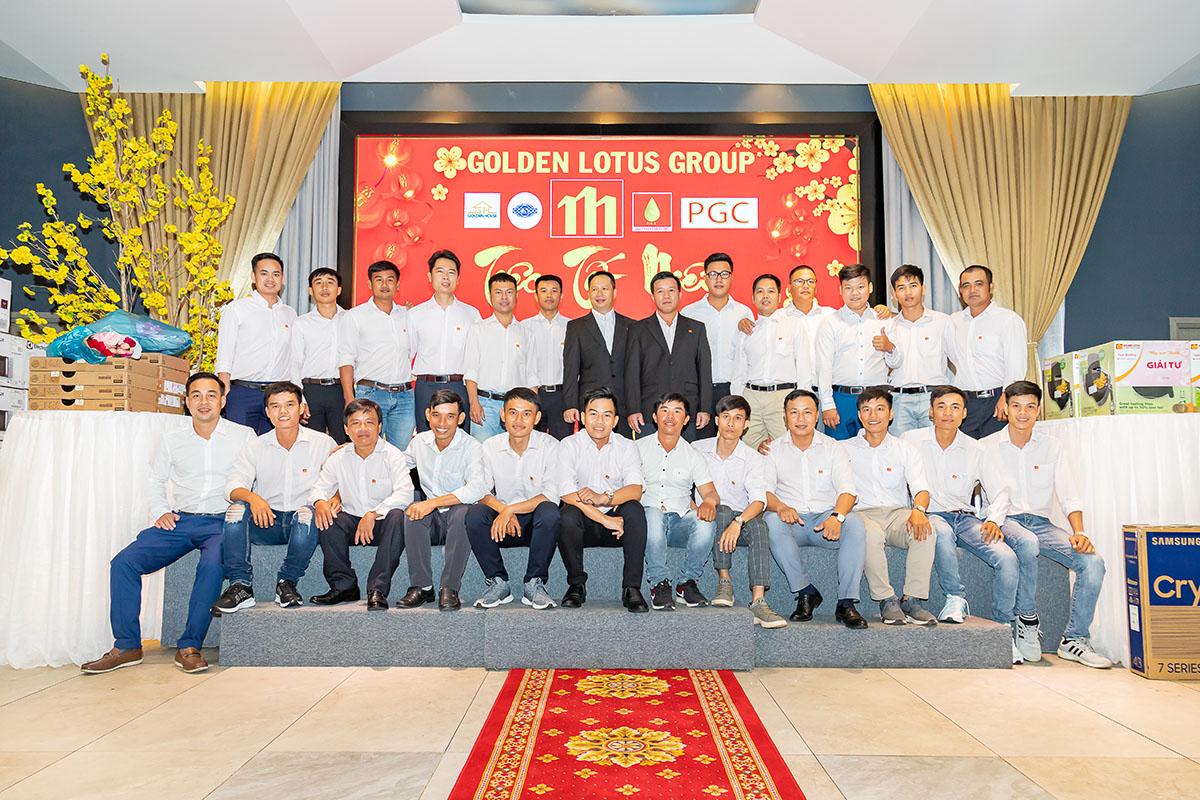 """Tiệc tất niên Golden Lotus Group 2020 """"Tự hào ở hiện tại – Tự tin đến tương lai"""""""