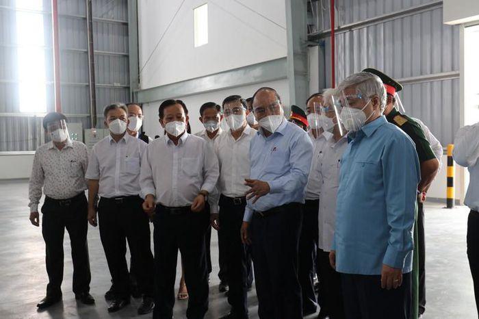 Golden Lotus Construction đồng hành cùng tỉnh Bình Dương sử dụng nhà xưởng BW Thới Hòa làm bệnh viện dã chiến 6.000 giường