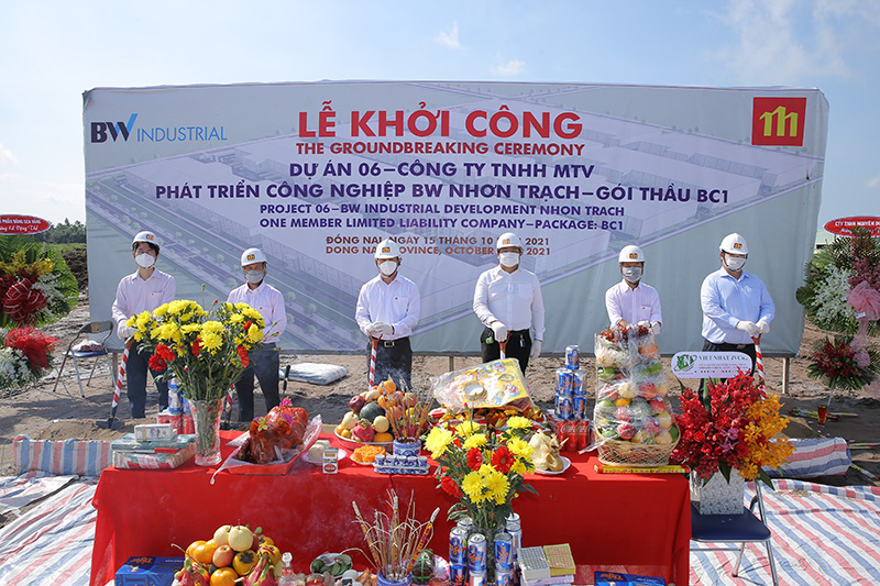 Golden Lotus khởi công dự án BW Nhơn Trạch